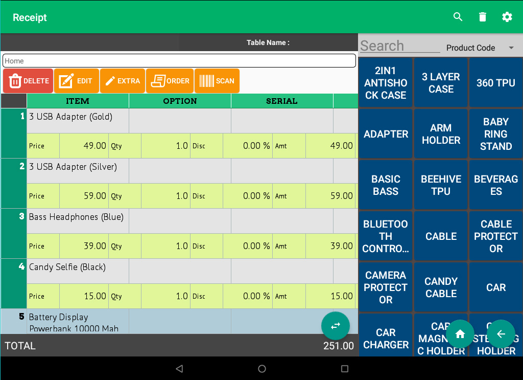 queue system android pos system xpress waiter fnb order station