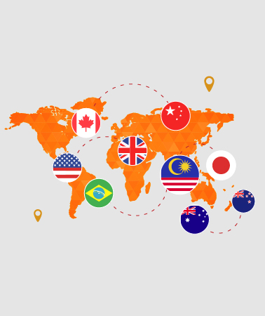 queue management system support multiple countries anguages